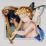 1998 Holiday Cherub